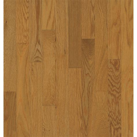 shop bruce oak hardwood flooring sle butterscotch at lowes com