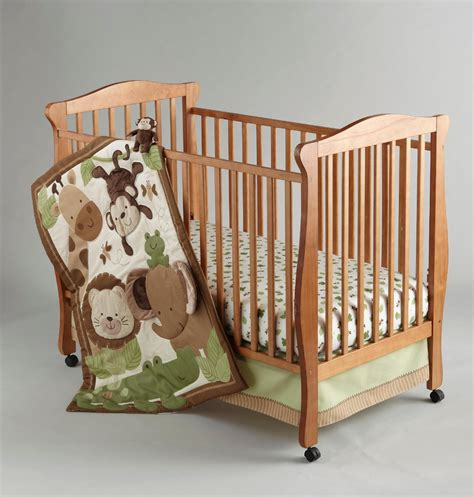 Jungle Crib Sheets by Bedding By Nojo 4 Safari Baby Crib Set