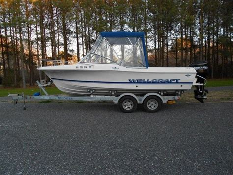 used boat parts maryland 1996 wellcraft v21 powerboat for sale in maryland