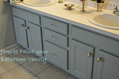 how to paint a wood bathroom vanity oh the vanity 3 paint colors later chernee s house