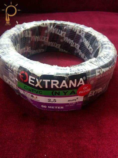Kabel Nya 2 5 Jual Kabel Listrik Nya 2 5 Merk Extrana Primadona