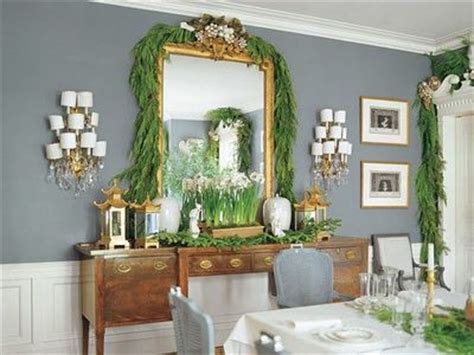 this glamorous dining room mirror sconces