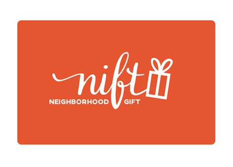 Nift Gift Card - nift bring great new customers through the door