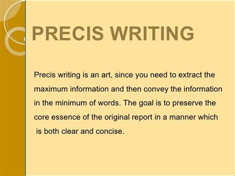 precis writing template write precis paper