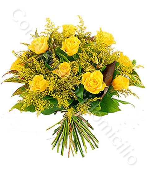 bouquet mimosa e fiori foto consegna fiori a domicilio bouquet di gialle con mimosa