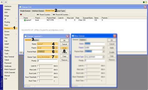 membuat queue tree pada mikrotik bandwidth manager dengan pcq di mikrotik sujianto