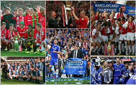 epl winners since 2000 english premier league chions winners till date