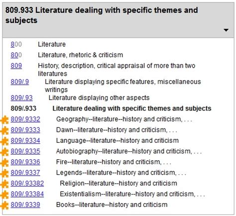 theme in literature notes 025 431 the dewey blog 800 899 literature