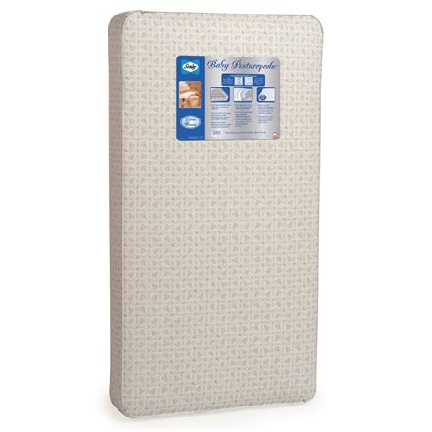 Crib Mattress Sealy Sealy 174 Baby Posturepedic 174 Crib Mattress