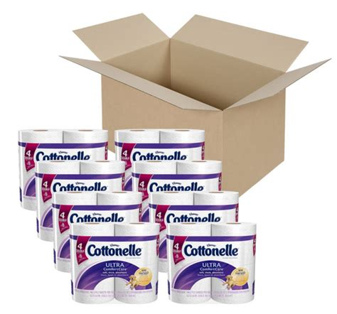 comfort care only cottonelle ultra comfort care toilet paper 32