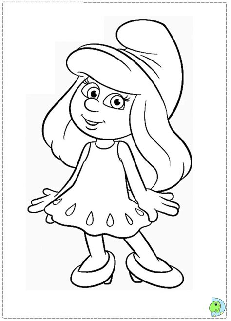 images smurf coloring pages places to visit pinterest