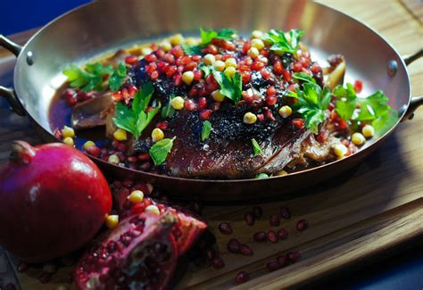 new years dinner ideas dinner in braised with pomegranate glaze