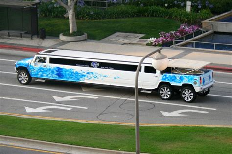Stretch Hummer Limousine W Pool Decadent Like A