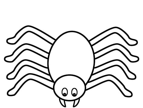 Spider Coloring Page Good Site For Getting Sheets For Spiders Coloring Pages