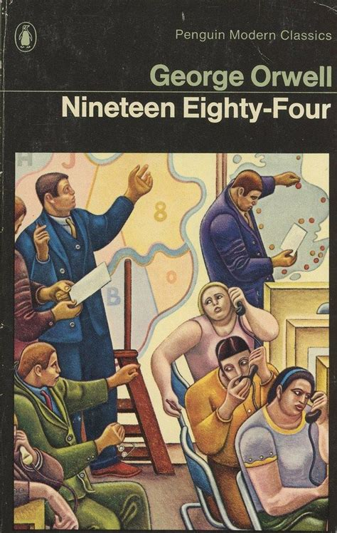 1984 nineteen eighty four penguin 9780141187761 25 best 1984 images on george orwell book covers and cover books