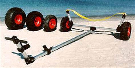 duck boat trailer wheels castlecraft seitech beach launching dolly for boats