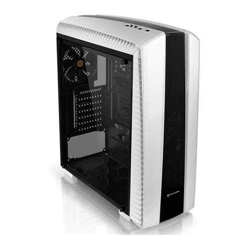 Casing Pc Cpu Segotep White Side Window 3 X 12cm Led Fan thermaltake versa n27 mid tower white ca 1h6 00m6wn 00 centre best pc hardware