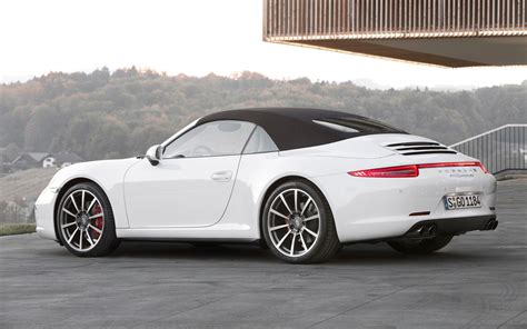 porsche 911 convertible white cars model 2013 2014 2013 porsche 911 carrera 4 and 4s