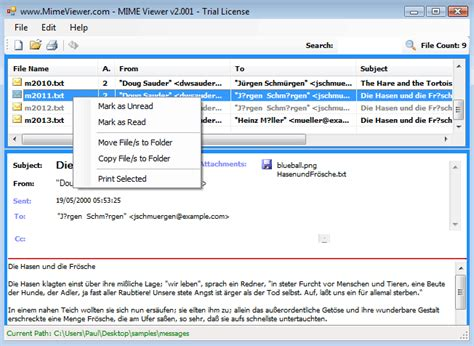 format email mime what is mime