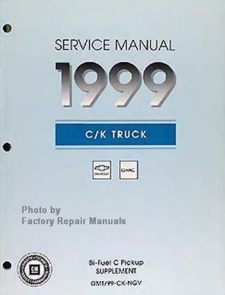 service manuals schematics 1999 gmc suburban 1500 free book repair manuals 1999 chevy gmc truck bi fuel cng service manual supplement c k 1500 2500 3500 factory repair