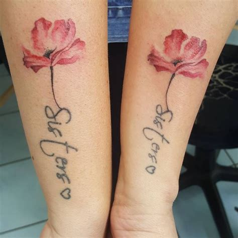 flower sister tattoos 50 matching tattoos designs and ideas 2017