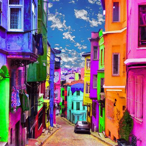 colorful cities image gallery most colorful cities