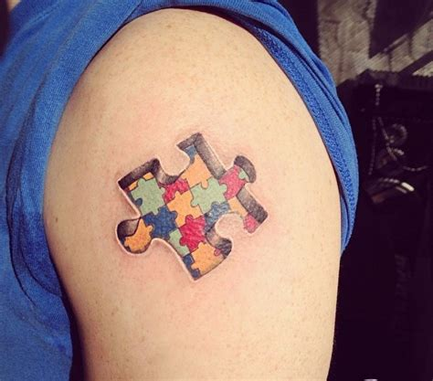 3d puzzle tattoo 60 unique puzzle tattoos