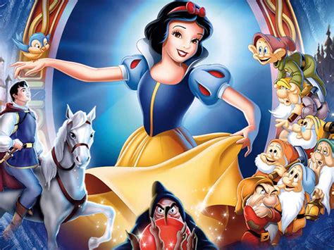 snow white and the seven dwarfs top cartoon wallpapers snow white and the seven dwarfs