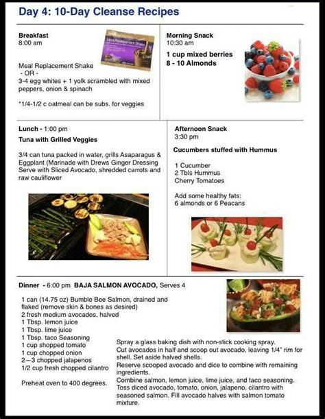 10 Day Detox Lunch Recipes by 17 Best Images About Advocare Recipes On Meal