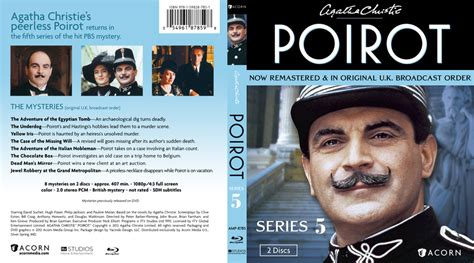 buy agatha christie s poirot the big four on dvd sanity agatha christie s poirot series 5 dvd covers bluray covers and cover art