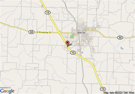 missouri map bolivar bolivar mo united states pictures citiestips