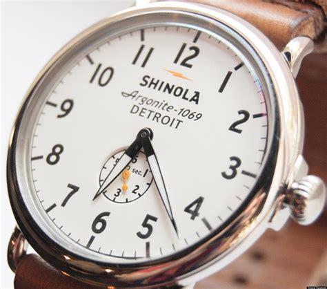 shinola detroit company manufactures instant vintage
