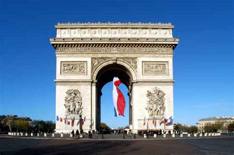 le arc arc de triomphe facts