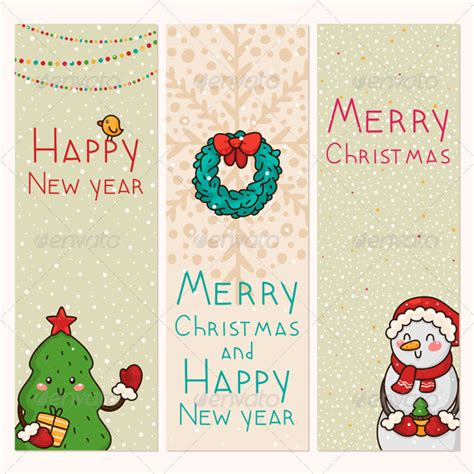 christmas   years vertical banners  nenochka graphicriver