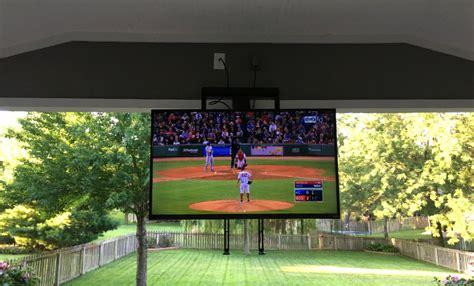 mantlemount mm automated tv mount  watching tv