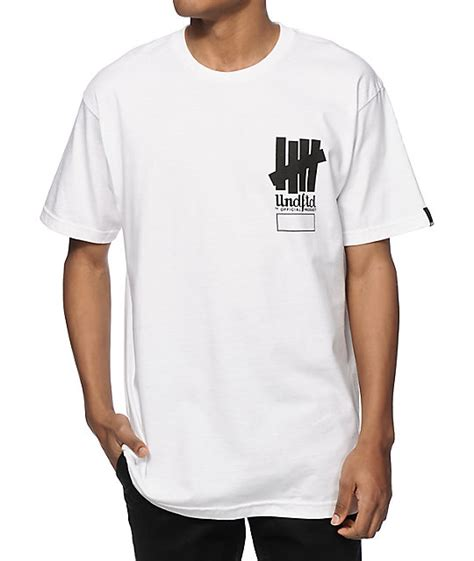 Pdp T Shirt undefeated official product t shirt at zumiez pdp