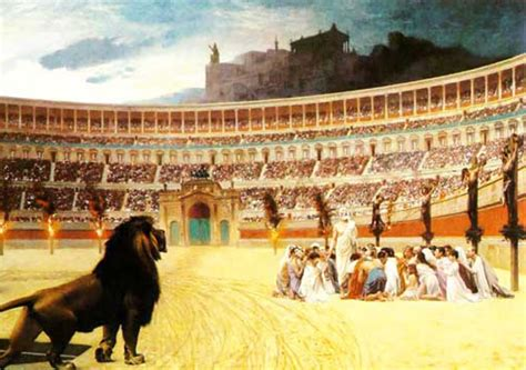 of christians and lions and the of cecil