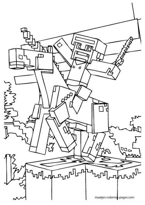 free printable minecraft coloring pages coloring pages