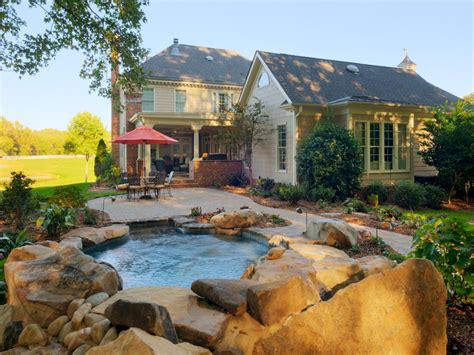 dreamy pool design ideas hgtv custom retreat an easy way to add livable space to the