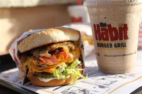 Veggie Grill The Grove by Bbq Bacon Charburger The Habit Burger Grill Elk