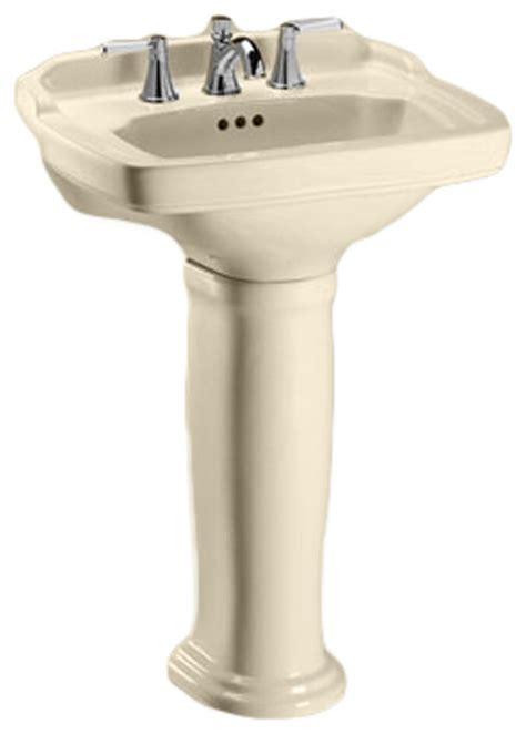 toto pedestal sink toto lpt770 8 sedona beige carrollton pedestal lavatory 8