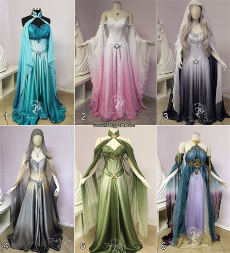 Dress Elven by Choose Your Own Elven Gown By Firefly Path On Deviantart