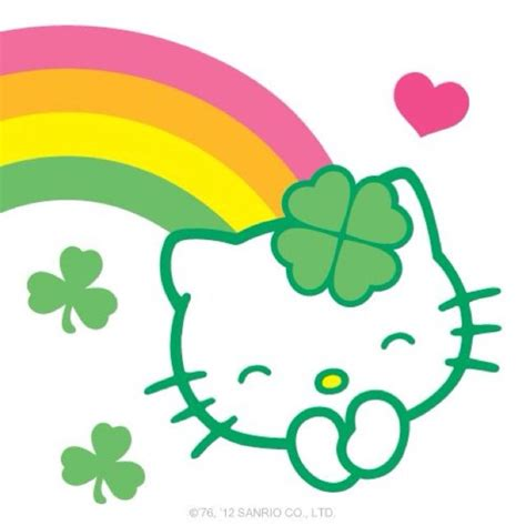 hello kitty wallpaper st patricks day 17 best images about holiday on pinterest valentines
