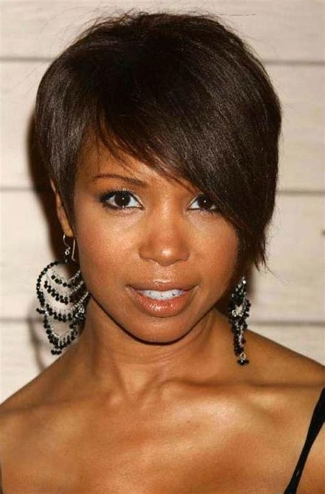 cuts for woman 70 with fine hair 2018 popular short haircuts for black women with fine hair