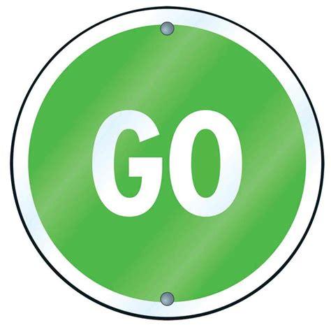 Best Green Go Sign #19844 - Clipartion.com Go Sign Clip Art