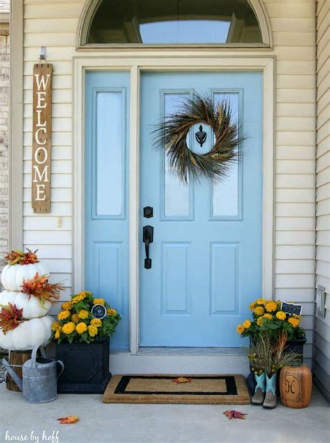 blue front door sky blue front door 11 front door designs to welcome you