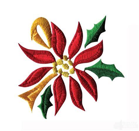 poinsettia designs poinsettia floral border 5 embroidery design
