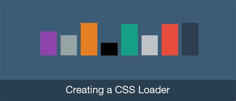 animation layout css css animation basics creating a css loader