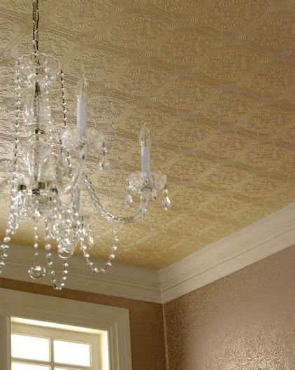 glitter wallpaper on ceiling brush up on paintable wallpaper for a posh look