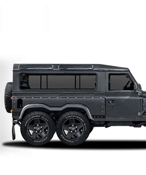 land rover defender 2017 6x6 the land rover defender flying huntsman 6x6 concept by